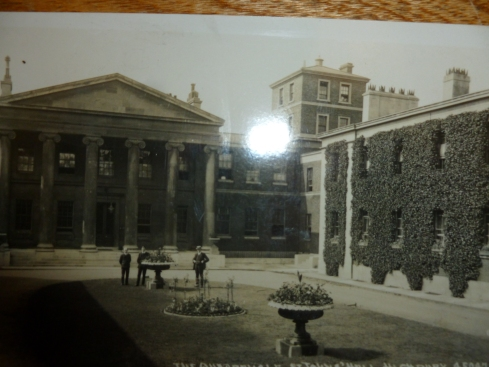Where was this handsome building? It's the Quadrangle at St John's Hall, Highbury.