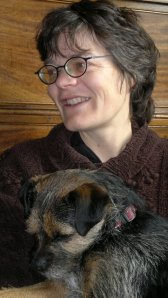 Islingtonfacesblog interviewer: me and the dog.