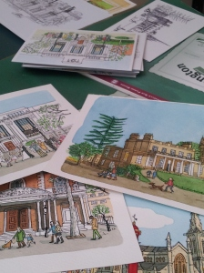 Teresa loves our local landmarks. All our available as greeting cards.
