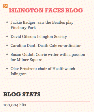 Milestone from http://islingtonfacesblog.com met on 30/10/15