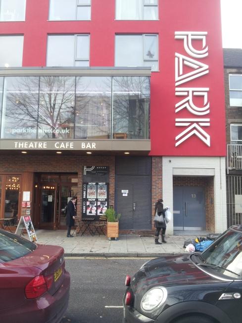 Hazel's companion, Artistic Director Jez Bond, set up the Park Theatre in mid 2013.