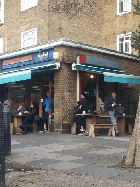 """Vagabond at Charter Court, off Stroud Green Road, http://vagabondn4.co.uk/ """"does amazing hot chocolate on a stick,"""" says Christopher Curtis."""