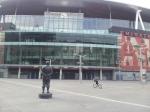 Emirates Stadium: AISA's Paul Matz lives just 12 minutes away.