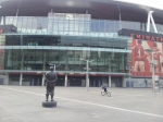 Emirates Stadium: AISA's Paul Matz lives just 12 minutes away.