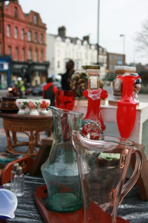 Beautiful and useful things on sale at Archway Market - every Saturday.