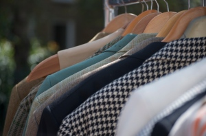 Jackets, dresses, scarves, tippets -whatever vintage you are seeking you are sure to find at Camden Passage. Photo by Vicky Ryzhykh.