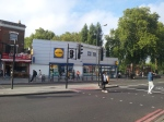 Lidl is popular in Finsbury Park because it is cheap and sells an eclectic range of food.