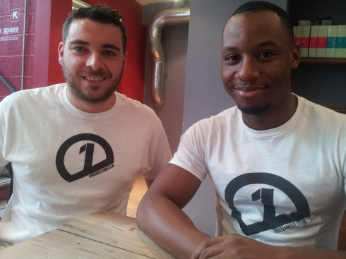Stevey Porter and Kieran Wilson – founders of Route1audio – a record label, club night and TV channel.