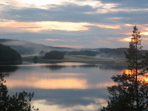 View from the Swedish cabin. Photo: Jonas Grimas.