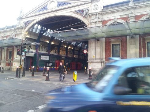 """Close to work I like Leatherlane market, the church and cloisters at the back of Smithfield Market and J&A Café, 4 Sutton Lane, EC1."" http://jandacafe.com/"