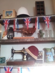 Blighty decor is quirky British.