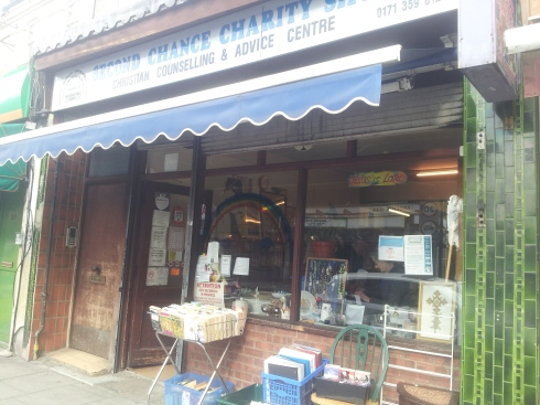 Second Chance Charity Shop on Blackstock Road is my favourite. They always look out for roller skates for our Thursday roller discos. Anyone can come after school, from 4.30-5.30pm. It's £1 and there is a DJ and disco lights!