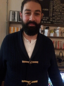 Peter Theoklitou runs the Coffee works Project.
