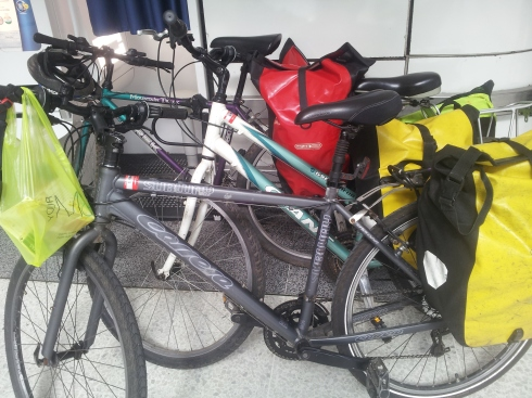 Nick Jobbings: I cycle around Islington – London is amazing for cyclists compared to Leeds, there are so many cyclists you feel safe. But I went over to Rowan Arts on Hornsey Street and there was nowhere to lock my bike. The developers spent all that money on tower blocks but obviously bikes were not an important consideration.