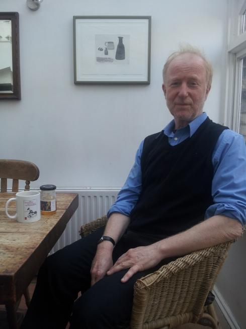 Peter Buckoke: musician, Alexander technique specialist and hobby beekeeper.