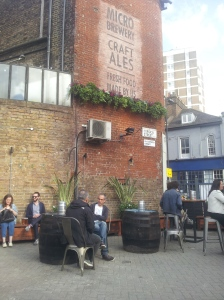 The Brewhouse & Kitchen garden has been improved. It was always a sun trap (remember sitting outside at the Tramshed), but it's now less exposed to the Highbury Corner traffic.