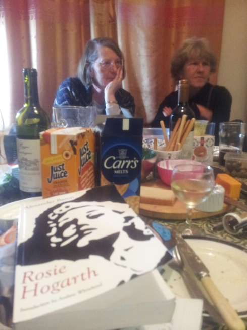Book group concentration during Rosie Hogarth by Alexander Baron.
