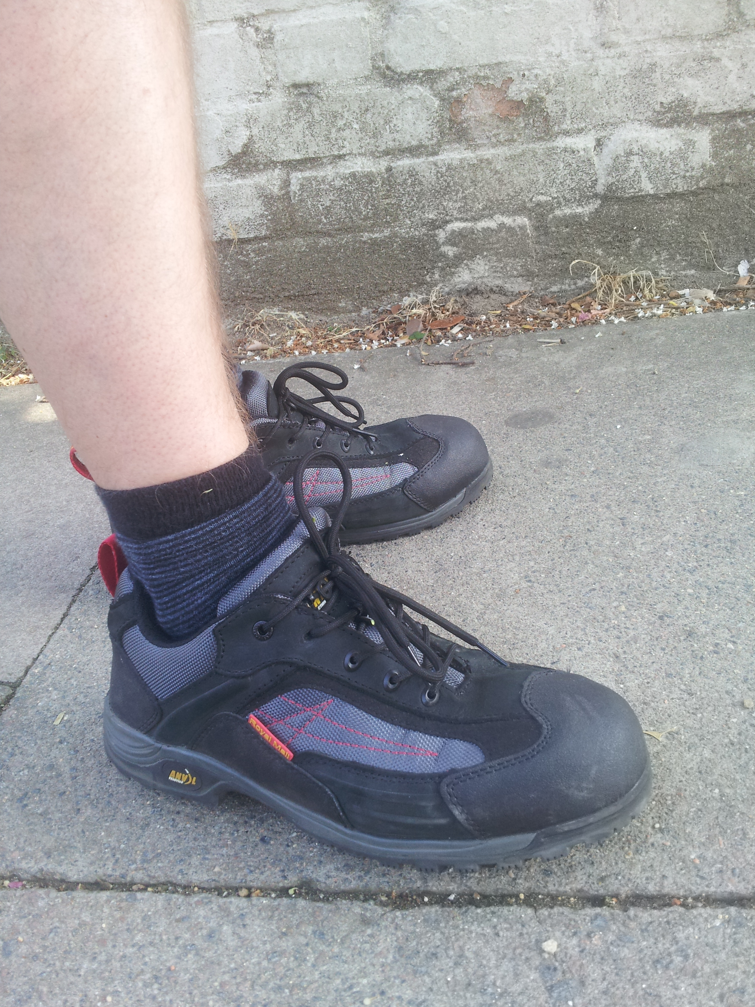 A Royal Mail spokesman said: 'The safety of our employees is a top priority for Royal Mail. 'A range of boots and shoes are available for our people and these are regularly updated based on the.