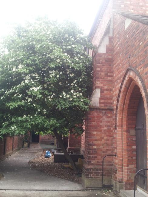 ST Thomas the Apostle parish church - Monsell Road entrance.