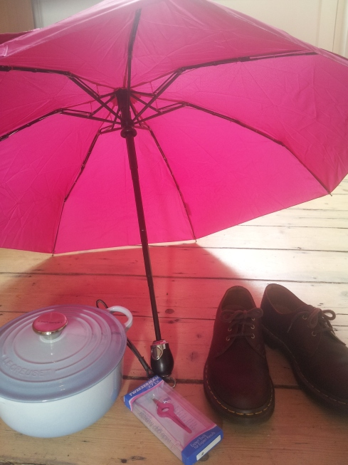 If you choose products with a lifetime guarantee you only need to go shopping once. Tara Button has identified a few #buymeonce products including a Davek umbrella; Tweezerman tweezers; pans from Le Creuset and the For Life range of Dr Martins boots and shoes. See more ideas at buymeonce.com