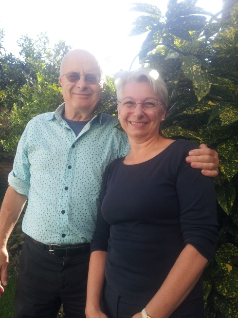 Tim Sayer and Annemarie Norton.