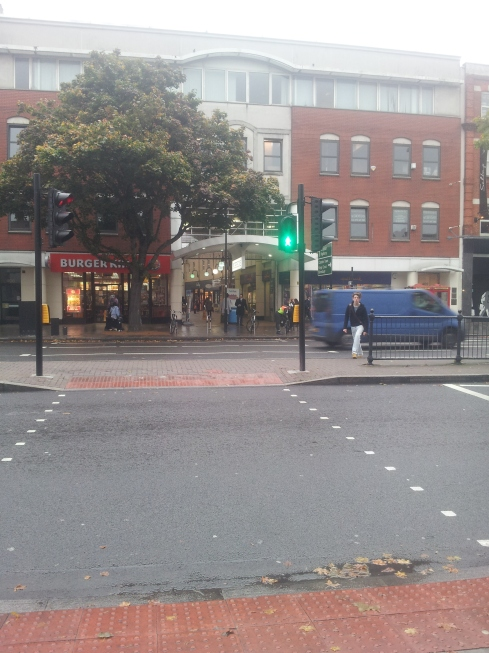 The long awaited pedestrian crossing over Holloway Road opposite Nags Head.