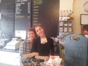Lara's Cafe, 16 Blackstock Road, N4. See www.larascaffetteria.com