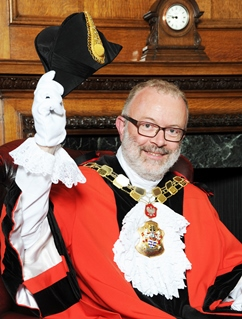 Richard Greening, Islington Mayor 2015-16