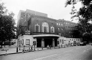 Old Sadler's Wells prior to demolition. (c) Colin O'Brien