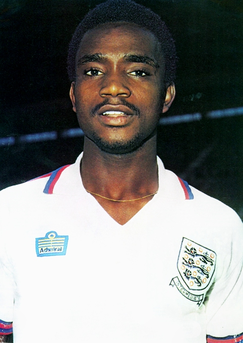 April 1977 England under 21 pic -the first black player to represent England at any level.