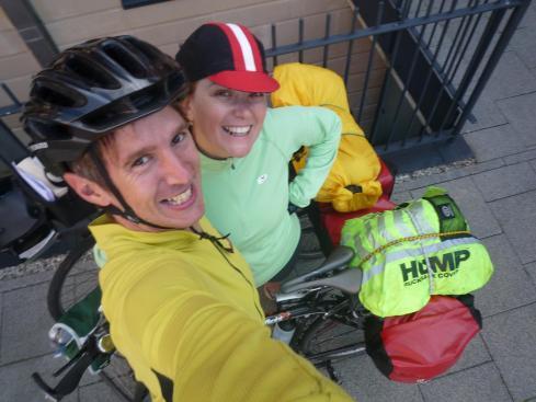 Simon Izod and Clarissa Xf who run Beespoke Tours. Join them to cycle to Amsterdam, Paris or Bruges.