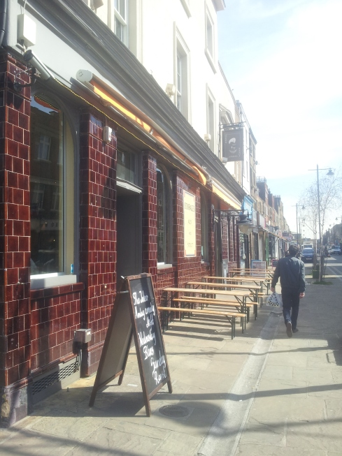 The Joker pub on 58 Penton Street, N1 has just been refurbished. If you join Cate Mackenzie's flirting workshop there in May (and once a month after that) you can also try a beer from the new tap wall.