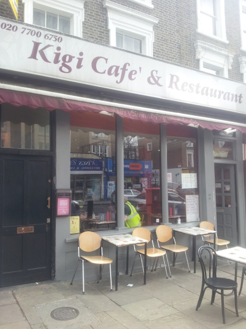 Kigi Cafe is a family run cafe on Caledonian Road serving delicious homecooked food.