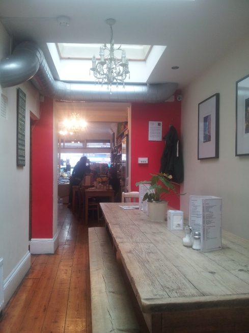 Lara's Cafe, XX Blackstock Road specialises in tasty fresh food with an Italian twist. And it's got a garden.